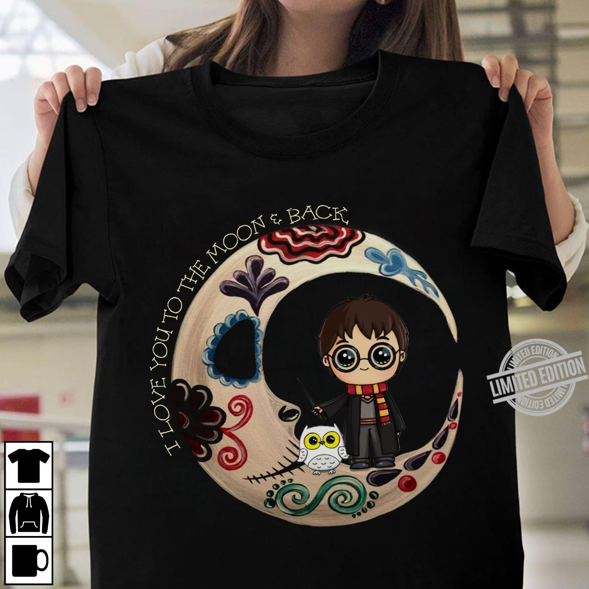 I Love You To The Moon & Back Harry Potter Shirt